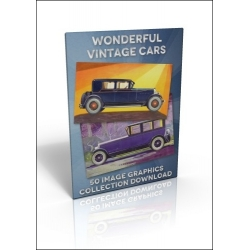 Download - 50 Image Graphics Collection - Wonderful Vintage Cars
