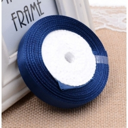 6mm Satin Ribbon - Navy (25 yards)