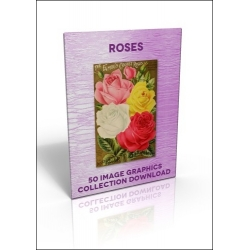 Download - 50 Image Graphics Collection - Roses