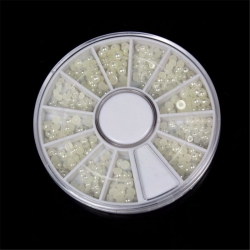 White Half-pearl Wheel (260pcs)