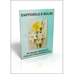 Download - 50 Image Graphics Collection - Daffodils & Bulbs