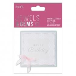 Embellished Topper - Happy Birthday (PMA 359011)