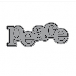 Printable Heaven die - Peace (1pc)