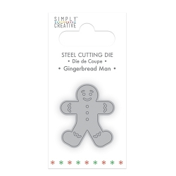 Simply Creative Mini Die - Gingerbread man (SCDIE057X18)
