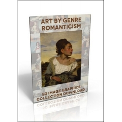Download - 50 Image Graphics Collection - Art by Genre, Romanticism