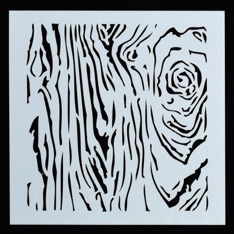 Reusable Stencil - Bark (1pc)