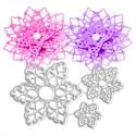 Printable Heaven dies - Lace Flowers (3pcs)