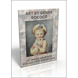 Download - 50 Image Graphics Collection - Art by Genre, Rococo
