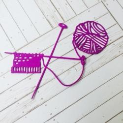 Printable Heaven die - Knitting (1pc)