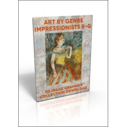 Download - 50 Image Graphics Collection - Art by Genre, Impressionists B-G