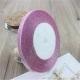Metallic Ribbon - 7mm Pink (22.86 metres)