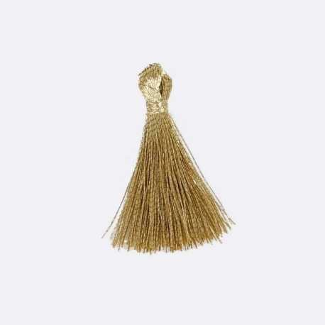 Metallic Tassels - Gold (10pcs)