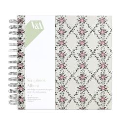 """V & A 8"""" x 8"""" Scrapbook Album (VAALB002)"""