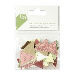 V & A Mini Bunting and Twine (VATOP007)