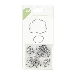 V & A Steel Cutting Flower Die and Stamp Set (VADIE001)