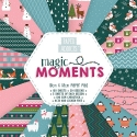 Paper Addicts Magic Moments Christmas 10cm x 10cm Paper Pad (PAPAD024X18)
