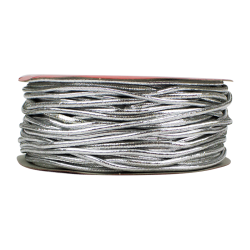 Christmas Elasticated Cord - Silver (XMA1725)