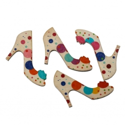 Wooden Shoes, Dotty (4 pieces)