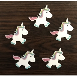 Unicorn Embellishments (5pcs)