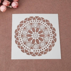 Reusable Stencil - Doily (1pc)
