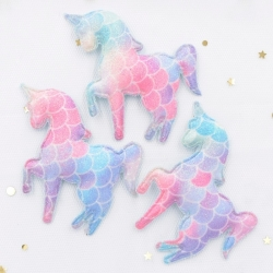 Padded Unicorns (4pcs)