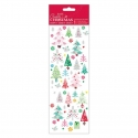 Christmas Stickers - Colourful Trees (PMA 804916)
