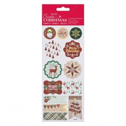 Foil Stickers - Tartan Christmas (PMA 828900)