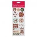 Foil Stickers - Tartan Christmas (PMA 828900)