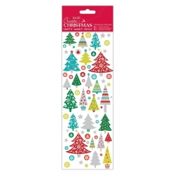 Christmas Stickers - Folk Trees (PMA 804912)