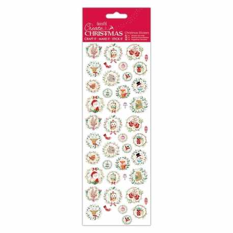 Christmas Stickers - Festive Characters (PMA 804923)