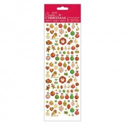Christmas Stickers - Lustre Baubles (PMA 804922)