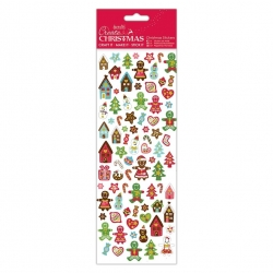 Christmas Stickers - Gingerbread (PMA 804918)