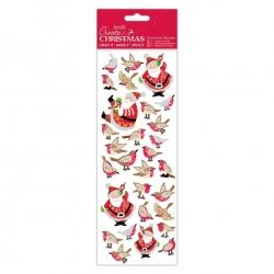 Christmas Stickers - Filigree Santa (PMA 804915)