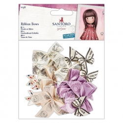 Small Ribbon Bows (20pk) - Santoro (GOR 367200)