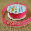 Self-adhesive Lace roll - Bright Pink (14mm x 1m)