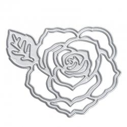 Printable Heaven die - Rose with Leaf (1pc)