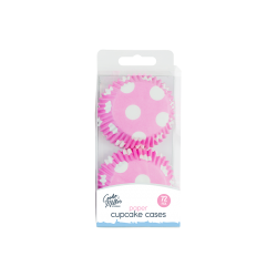 Cupcake Cases, 72 Pack - Pink (HOM0609)