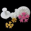 Plunger Cutter set - Snowflakes 1 (3pcs)