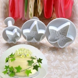 Plunger Cutter set - Ivy Leaves