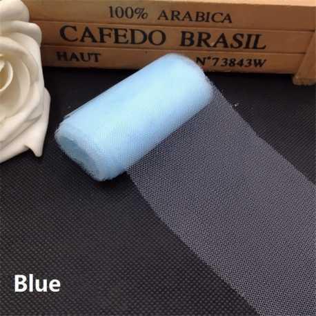 Plain Tulle - Pale Blue (6cm x 5m)