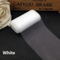 Plain Tulle - White (6cm x 5m)