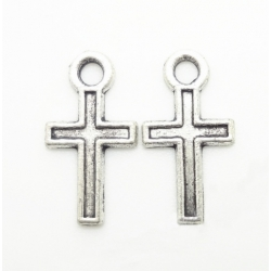 Metal Charms - Small Cross (20)