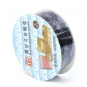 Self-adhesive Lace tape - Black (14mm x 1m)