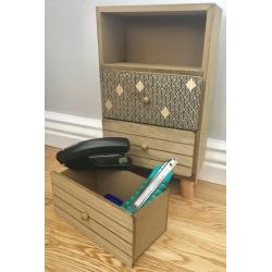 Wooden Desktop Drawers (O-59923)