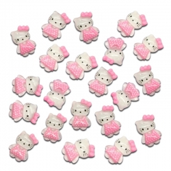 Kitty in Dress Embellishments (12pcs)