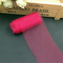 Plain Tulle - Dark Red (6cm x 5m)