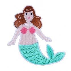 Applique Patch - Mermaid (2pcs)