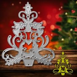 Printable Heaven die - Nativity Christmas Tree (1pc)