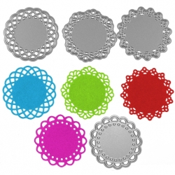 Printable Heaven dies - Mini Doilies (4pcs)
