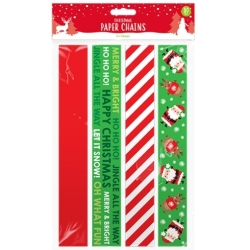 Christmas Paper Chains 80 Pack (XMA1785)